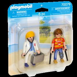 Playmobil Playmobil - Duopack Dokter en Patiënt (70079)
