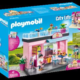 Playmobil Playmobil - Mijn koffiehuis (70015)