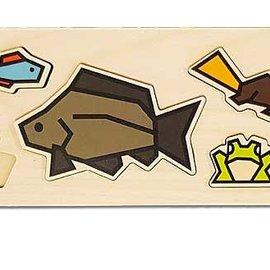 Cubey houten puzzel - Sloot