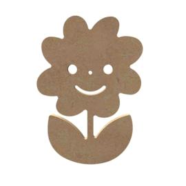 Gomille MDF figuur - Lachende Margriet (15 cm)