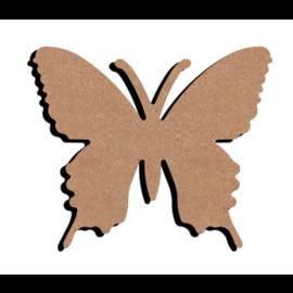Gomille Vlinder MDF 15 cm