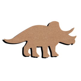Gomille MDF figuur - Tryceratops (15 cm)