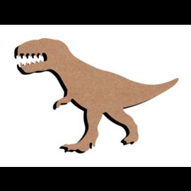 Gomille MDF figuur - Tyranosaurus Rex  (15 cm)