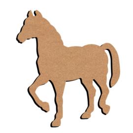 Gomille MDF figuur - Paard  (15 cm)