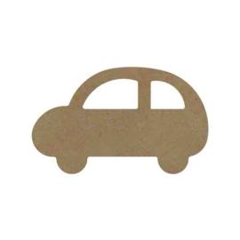 Gomille MDF figuur - Auto (15 cm)