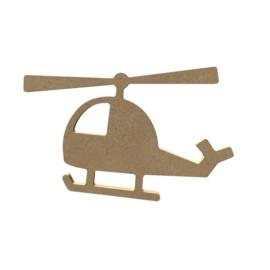 Gomille MDF figuur - Helikopter (15 cm)