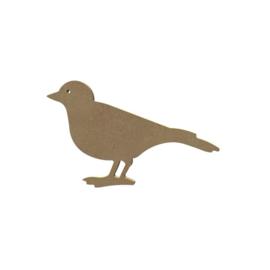 Gomille MDF figuur - Vogel  (15 cm)