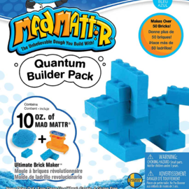 MadMattr MadMattr Quantum Builder Pack blauw + blokkenmaker (incl. 283 gr. klei)