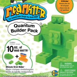 MadMattr MadMattr Quantum Builder Pack groen + blokkenmaker (incl. 283 gr. klei)