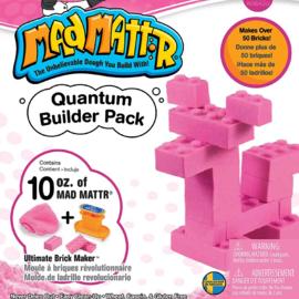 MadMattr MadMattr Quantum Builder Pack roze + blokkenmaker (incl. 283 gr. klei)