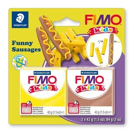 FIMO Fimo kids funny kits set funny sausages