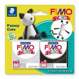 FIMO Fimo kids funny kits set funny cats