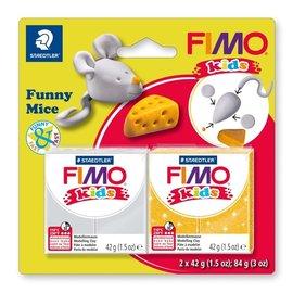 Fimo Fimo kids funny kits set funny mice