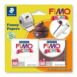 FIMO Fimo kids funny kits set funny paper