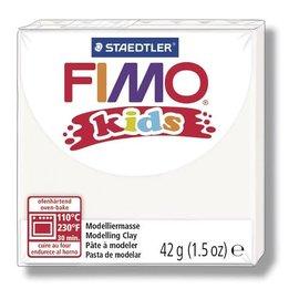 FIMO Fimo kids boetseerklei 42 g wit