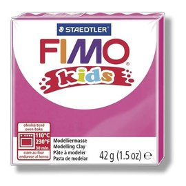 FIMO Fimo kids boetseerklei 42 g pink