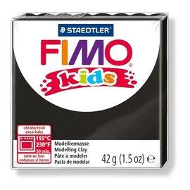 FIMO Fimo kids boetseerklei 42 g zwart