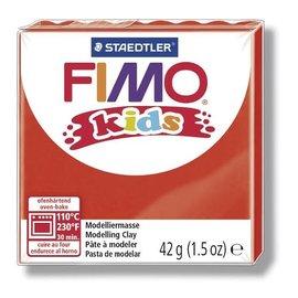 FIMO Fimo kids boetseerklei 42 g rood