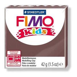 Fimo Fimo kids boetseerklei 42 g - Bruin