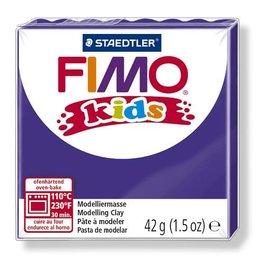 FIMO Fimo kids boetseerklei 42 g lila