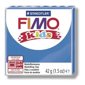 FIMO Fimo kids boetseerklei 42 g blauw