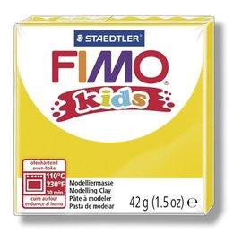 FIMO Fimo kids boetseerklei 42 g geel