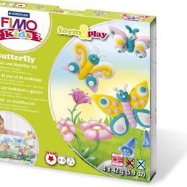 Staedtler Staedtler Fimo kids Klei set Form&Play Butterfly