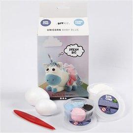 Foam Clay Foam Clay Unicorn Baby Blue