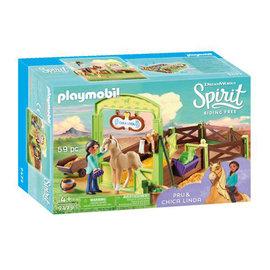Playmobil Playmobil - Pru & Chica Linda met paard (9479)