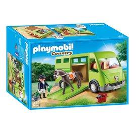 Playmobil Playmobil - Paardenvrachtwagen (6928)