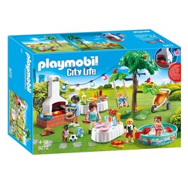Playmobil Playmobil - Familiefeest met barbecue (9272)