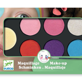 Djeco Djeco 9231 Schminken - 6 schattige kleuren
