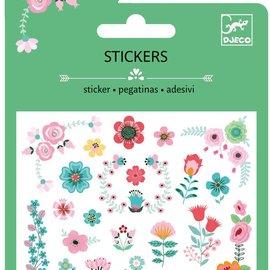 Djeco Djeco 9763 Mini stickers - Kleine bloemen