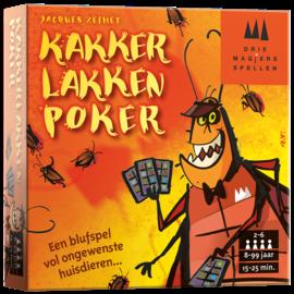 Drie magiërs spellen Kakkerlakkenpoker