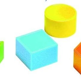 16 minivormen gekleurd