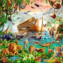 Bluebird Bluebird puzzel Noah's Ark  (3000 stukjes)