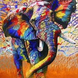 Bluebird Bluebird puzzel African Colours (1500 stukjes)