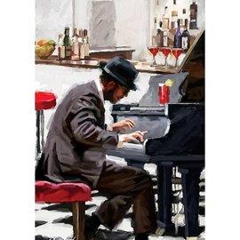 Art puzzle Pianist (1500 stukjes)