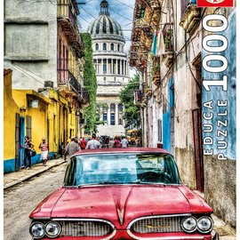 Educa Educa puzzel Vintage Car in Old Havana (1000 stukjes)