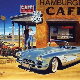 Art puzzle Arizona Cafe (1500 stukjes)