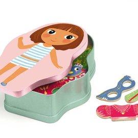 Djeco Djeco 3084 Magneetspel hout Belissimo prinses