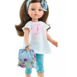 Paola Reina Paola Reina Pop Amigas Carol zomer/blauw (32 cm)