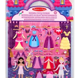 Melissa & Doug Melissa & Doug Herbruikbare Puffy Stickerblok Prinses