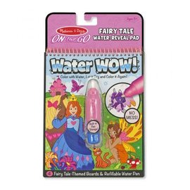 Melissa & Doug Melissa & Doug Water Wow Fairy Tale (roze)