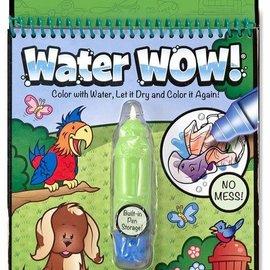 Melissa & Doug Melissa & Doug Water Wow Animals (groen)