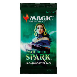 Magic The Gathering Magic The Gathering - War of the Spark Booster Pack