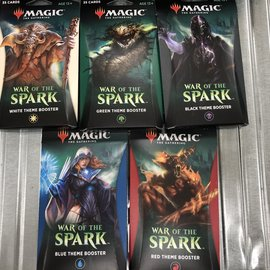 Magic The Gathering Magic The Gathering - War of the Spark Theme Booster