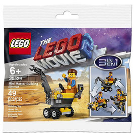 Lego Lego 30529 The Movie 2: Mini Master-Building Emmet