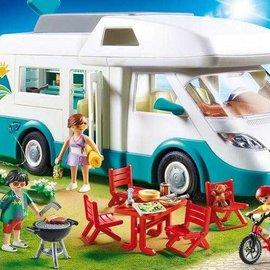 Playmobil Playmobil - Mobilehome met familie (70088)