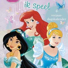 Disney Prinses kleurboek - Ik kleur, ik speel (+ verjaardagskalender)